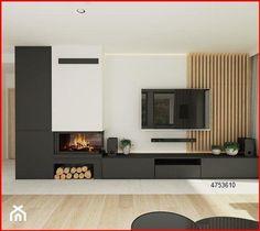 Living Room Decor Fireplace, Living Room Wall Units, Living Room Tv Unit Designs, Home Fireplace, Living Room Interior, Home Living Room, Home Room Design, Home Interior Design, Modern Tv Room