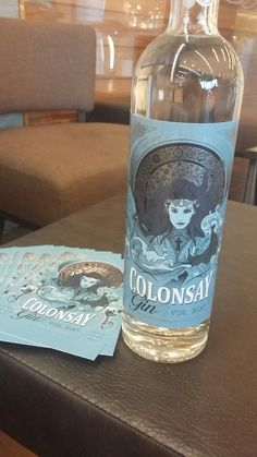 LIGHT THE BEACONS!! Congrats to Wild Thyme Spirits on the launch of their new Gin #scottishgin #Colonsay #gintonic #ginislife #prettybottle