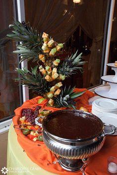 fondue bar.. great idea