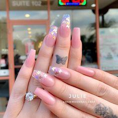 Edgy Nails, Fancy Nails, Swag Nails, Nail Art Designs Images, Cute Nail Designs, Pink Acrylic Nails, Matte Nails, Glamour Nails, Fire Nails