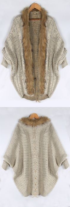 Keep your dream and go to have a look,this fashion and sexy bat sleeve knit sweater is ready for you, only $25.99. Go get it at WEALFEEL.COM
