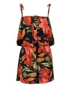 Tropical Print Playsuit from Select Fashion..  only £16