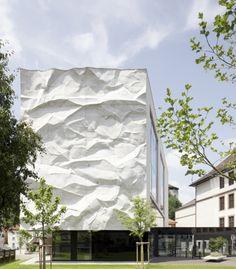 Froissé mur par Johannes Wiesflecker et Karl-Heinz Klopf - Nouvelles - FRAMEweb