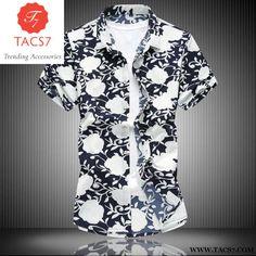 Short Sleeve Silk Hawaiian Shirt. Zeeshant 2018 Fashion Mens Short Sleeve  Silk Hawaiian Shirt Plus Size 3Xl 4Xl ... 6812a6bcfab2