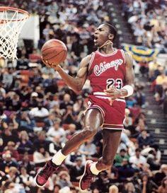 His Airness - Michael Jordan.