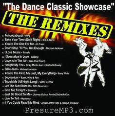 DANCE CLASSICS SHOWCASE The REMIXES Collection Mixtape Compilation CD #Disco