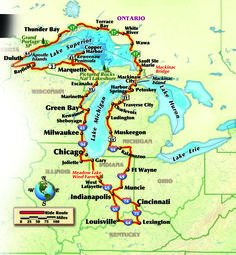 A Tale of Two Lakes: Riding the Circle Tour