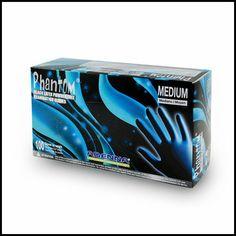 Adenna Phantom Latex Exam Gloves (PF) Powder Free Case