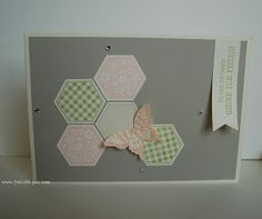 StampinUp!  Schmetterling Zum Wohl, Six-Sided Sampler, Papillon Potpourri