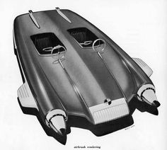 Automobile Design by Henry Gurr | Dean's Garage