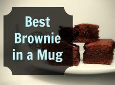 The Best Brownie in a Mug Recipe! - Grassfed Mama