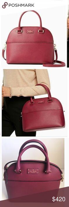 Kate spade grove street carli rioja leather bag COMING SOON ❗️New with tags kate spade Bags