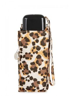 FULTON LEOPARD-PRINT UMBRELLA. #fulton # Fulton, Pouch, Silver, Style, Swag, Sachets, Porch, Belly Pouch, Outfits