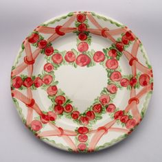 ursus Plates, Tableware, Red, Green, Tablewares, Licence Plates, Dishes, Dinnerware, Griddles