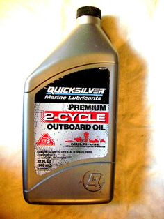 -QUICKSILVER MARINE LUBRICANTS PREMIUM TC W3, 2-CYCLE OUTBOARD OIL 32.FL OZ
