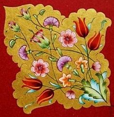 Butterfly With Flowers Tattoo, Flower Art, Arabesque, Tie Dye Crafts, Islamic Patterns, Art Articles, Bird Wallpaper, Turkish Art, Patterns In Nature