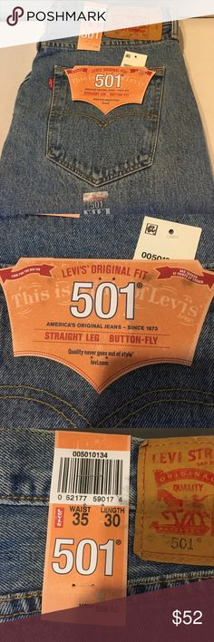 Levi's 501 straight leg button fly 35/30 Levi's 501 straight leg button fly 35/30 Levi's Jeans Straight