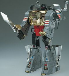 Out of all the transformers toys that I  ever owned, I wish I owned  grimlock