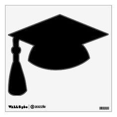 Graduation Hat | Make Your Own Custom Graduation Hat Wall Decal