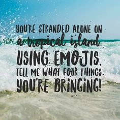 This is a fun and entertaining questions. I want to see how many people will answer. If you were stranded on a tropical island what would you bring? Be creative. Facebook Group Games, Facebook Party, For Facebook, Facebook Business, Facebook Content, Online Business, Farmasi Cosmetics, Oriflame Cosmetics, Facebook Engagement Posts
