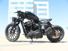 2011 HD Sportster Iron 883 Bobber Sportster Motorcycle