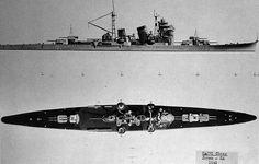 IJN Heavy Cruiser Nachi class 1941