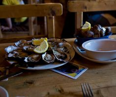 The Foodie's Travel Bucket List: Galway, Ireland- Pair oysters with brown bread and pints of Guinness at Moran's Oyster Cottage ($$).