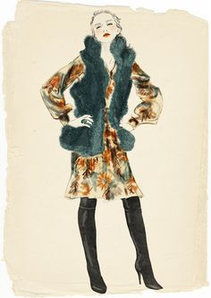 Sandra Suy fashion illustration