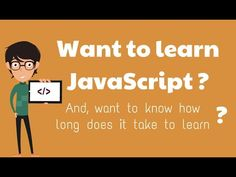 How Long Does it Take to Learn JavaScript? Introduction To Programming, Seo Tips, Science And Technology, Web Development, Take That, Teaching, Books, Libros, Book
