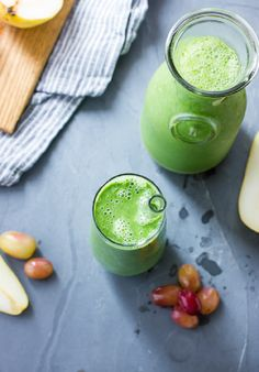 Fall Greens Smoothie. YUM.