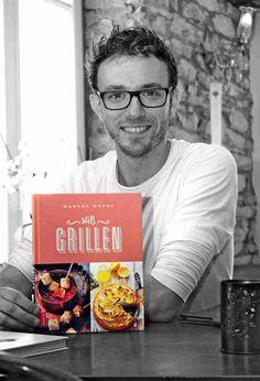 Manuel Weyer mit dem Buch Süß Grillen #BBQ #Grillen #Tarte #Weyer #Grillbuch #Rezept