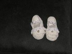 Ropa de Bebés Mary: zapatos de hilo de algodón primera puesta