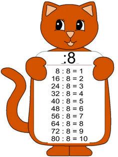 Tablica deljenja – ŠKOLSKI KUTAK Free Kindergarten Worksheets, Math Worksheets, File Folder Activities, Math Activities, Math Skills, Math Lessons, Multiplication, Math Board Games, Education Templates