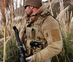 "US Army ""Bear"" fleece pullover"