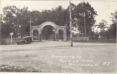 Bryan Park Entrance  circa 1930's