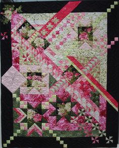 American Quilter Magazine: 69 Amazing mystery quilts now posted Sampler Quilts, Star Quilts, Scrappy Quilts, Quilt Blocks, Quilting Projects, Quilting Designs, Quilting Ideas, Art Quilting, Quilt Border