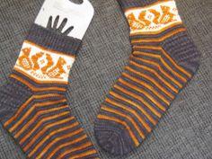 Squirrel Socks