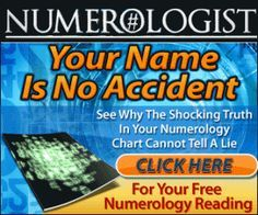 NUMEROLOGY Tap Into the 4,000 Year Old Science of Numerological Analysis With a Free Numerology Video Report! http://videonumerologist.com/