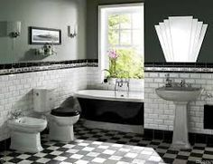 The art deco style is more present than ever today. People are interested in this 20th centubry's style and usually design their bathrooms this way. But what is the art deco actually? What do you need to make your bathroom in this style? It is style from the 20th century that became popular nowadays.