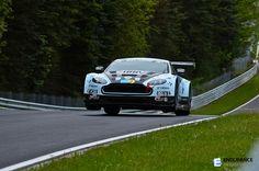 Nurburgring Nordschleife 24H. Aston Martin AMR Vantage.