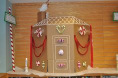 Gingerbread House Display