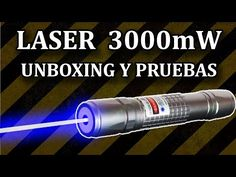 Worlds most powerful visible handheld laser / 7.3W Triple Diode Array (7,300mW) - YouTube