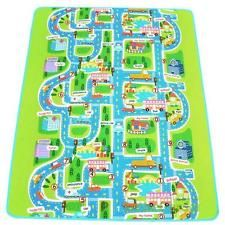 kids car road track children play mat pad rug big 2m x 16m carry