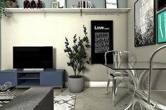 Descomplicada. Assim pode ser a decoração daquela casa que te abrigará por algum tempo.  . . . #decoracion #decor #dicas #tips #job #sketch #render #photo #casa #home #art #arquiteta - Architecture and Home Decor - Bedroom - Bathroom - Kitchen And Living