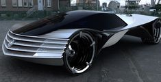 This uncanny Cadillac is created by Lorus Kulesus and it is meant to last for a century. The name of the 90th element – thorium – in the title of the design proposal is no coincident.  Kulesus sees the element acting as a nuclear fuel so the batteries powering the car can rely on an almost infinite source of energy. The fact that World Thorium Concept adds up as WTF is at the same time humorous and exact: it is a little bit far-fetched, but a futuristic concept has to be.