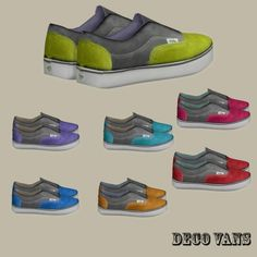 Deco shoes at Leo Sims • Sims 4 Updates