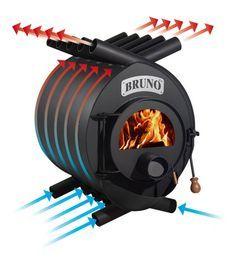 """Képtalálat a következőre: """"Bullerjan Stove"""" Stove Heater, Pellet Stove, Stove Oven, Rocket Heater, Rocket Stoves, Stove Fireplace, Fireplace Design, Wood Burning Heaters, Wood Heaters"""