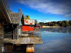 boat houses in sweden