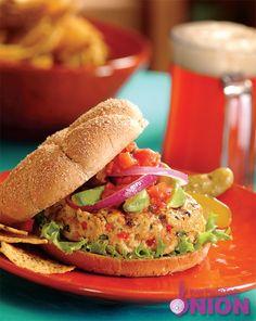 Southwest Turkey Burger #Recipe