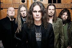 "HIM was formed in 1991 by vocalist Ville Valo, guitarist Mikko ""Linde"" Lindström, and bassist Mikko ""Migé"" Paananen, HIM's current lineup consists of Valo, Linde, Migé, and Janne ""Emerson Burton"" Puurtinen on keyboards. http://www.jinglejanglejungle.net/2015/02/eu2.html #HIM"